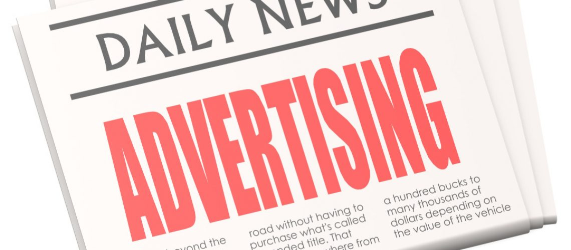 how to give ads in newspaper